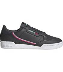 zapatilla negra adidas continental 80