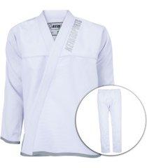 kimono jiu-jitsu keiko série limitada 2.0 bco - masculino - branco