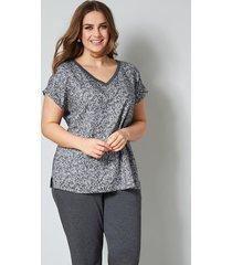 blouse janet & joyce grijs