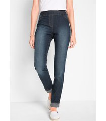 jegging met comfortband, slim fit