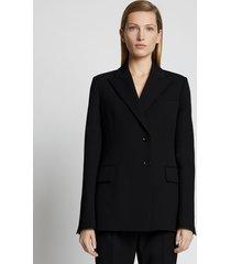 proenza schouler upcycled wool blazer black 12