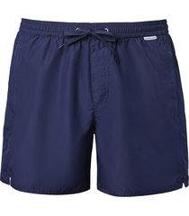 calzedonia - formentera cropped patterned swimming shorts, xl, blue, men