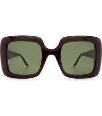gucci gucci gg0896s red sunglasses