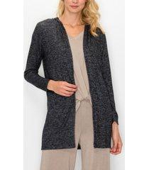 women's cozy long sleeve hoodie cardigan