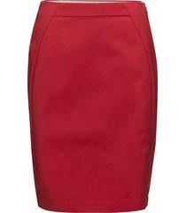 skirt knälång kjol röd coster copenhagen