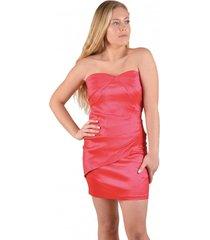 vestido fiesta satin rojo alexandra cid