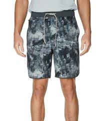 7 diamonds core active splash print shorts, size x-large in grey watersplash at nordstrom