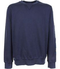 mc2 saint barth sweatshirt in blue color