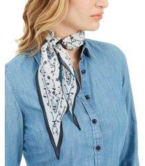 echo 23 bluebell diamond scarf