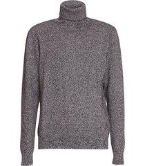 dolce & gabbana turtleneck sweater in multicolor