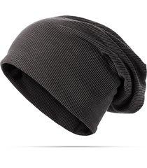 berretto in cotone solido per donna, berretto in lana, berretto multifunzionale, berretto con collo a foulard