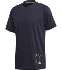 camiseta adidas inside mesh tech masculina fl3624, cor: azul marinho, tamanho: g - azul marinho - masculino - dafiti