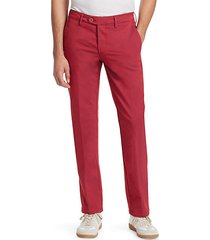 collection double-faced chino trousers