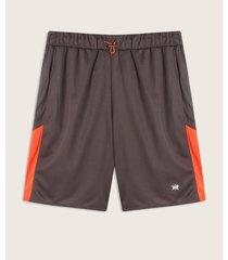 pantaloneta gris-naranja patprimo