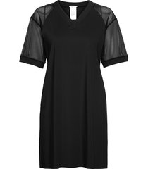 hailey dress kort klänning svart wolford