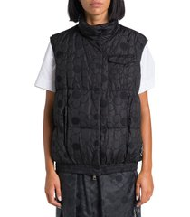 moncler genius sash sleveless down jacket by simone rocha