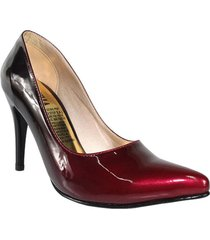 tacones stilettos vinotinto degrades wanted splendid