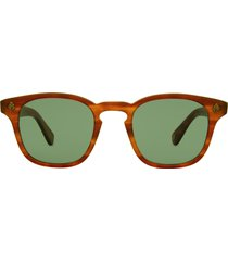 garrett leight garrett leight ace sun honey amber tort sunglasses