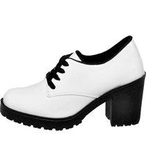 bota coturno clube do sapato de franca montividéu verniz branco