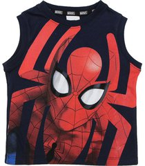 musculosa azul magic marvel spiderman full araáa sudadera