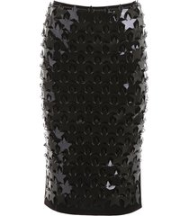 paco rabanne star sequins skirt