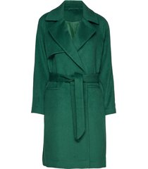 2nd livia outerwear coats wool coats groen 2ndday