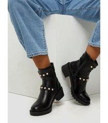 bianco biapearl fashion boot flat boots