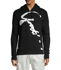 signature logo pullover hoodie