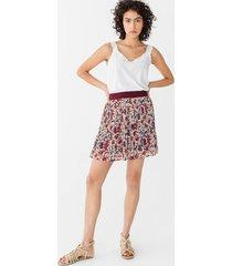 krótka plisowana spódnica