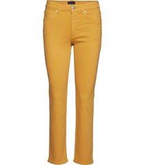 slim twill jeans slimmade jeans gul gant