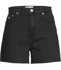 mom short shorts denim shorts svart calvin klein jeans