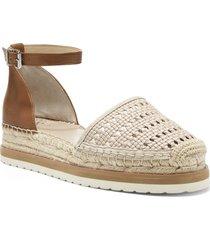 women's vince camuto bredenna espadrille sandal, size 6.5 m - beige