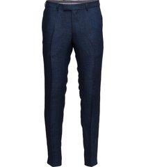 damien trousers kostymbyxor formella byxor blå oscar jacobson