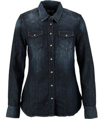replay denim blouse
