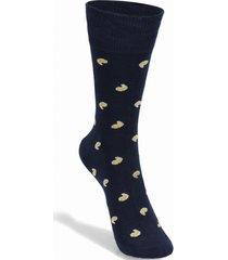 calcetín de algodón navy florsheim
