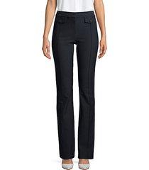 flap pocket trousers
