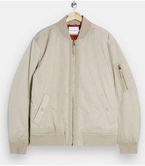 mens stone ma1 bomber jacket