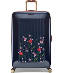 ted baker london large take flight hedgerow 31-inch hard shell spinner suitcase -