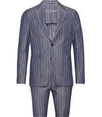 bs provence tailored, suit kostym blå bruun & stengade
