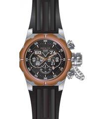 reloj invicta negro modelo 216ch para hombres, colección russian diver
