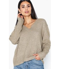 object collectors item objglenda l/s knit pullover a q stickade tröjor