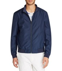 tallia men's slim-fit bomber jacket