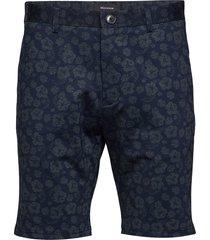 mapaton sh jersey print shorts chinos shorts blå matinique