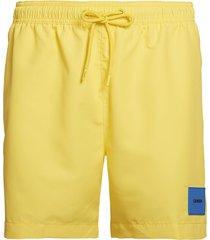 calvin klein heren zwembroek drawstring - licht geel