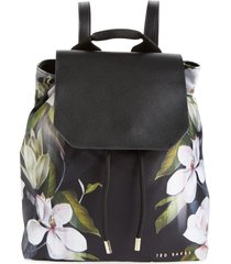 ted baker london trindy opal floral print drawstring backpack -