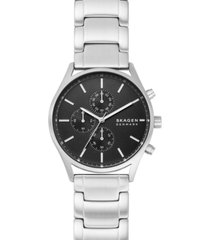skagen men's chronograph holst stainless steel bracelet watch 42mm
