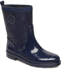 oxford 27cw regnstövlar skor blå tommy hilfiger
