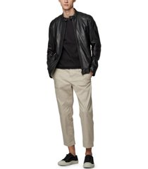 boss men's jagson1 slim-fit biker jacket
