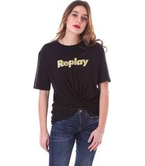 t-shirt korte mouw replay w3559 .000.23168p