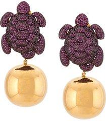 begüm khan caretta party earrings - gold